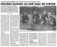 De Gazet (4 oktober 2001)