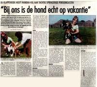 De Gazet (augustus 1999)